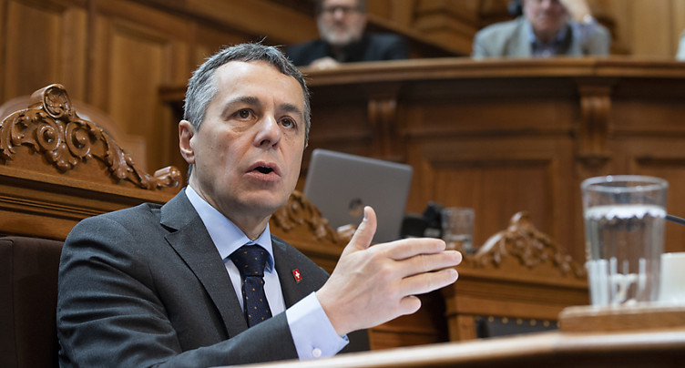 Cassis défend le projet d'accord-cadre négocié avec l'UE