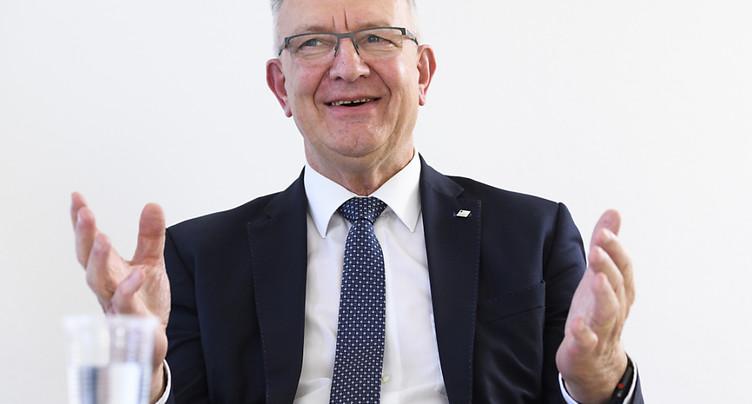 Georges Godel satisfait de l'année de présidence du Conseil d'Etat
