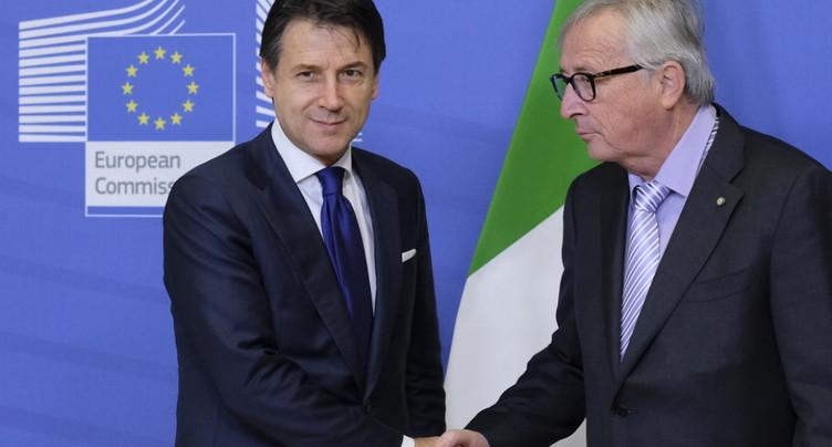 Accord entre Rome et Bruxelles sur le budget italien (officiel)