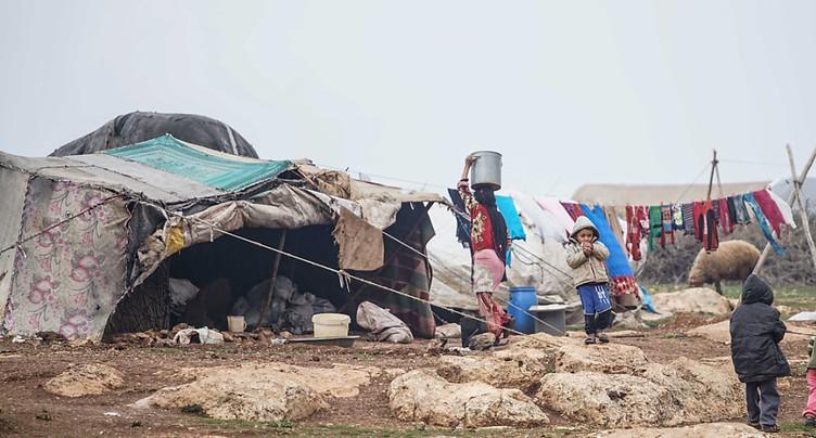 Quinze enfants déplacés morts de froid - émissaire de l'ONU à Damas