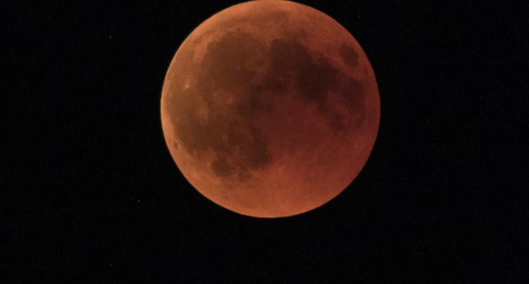 Nouvelle éclipse de Lune lundi, la dernière avant quatre ans