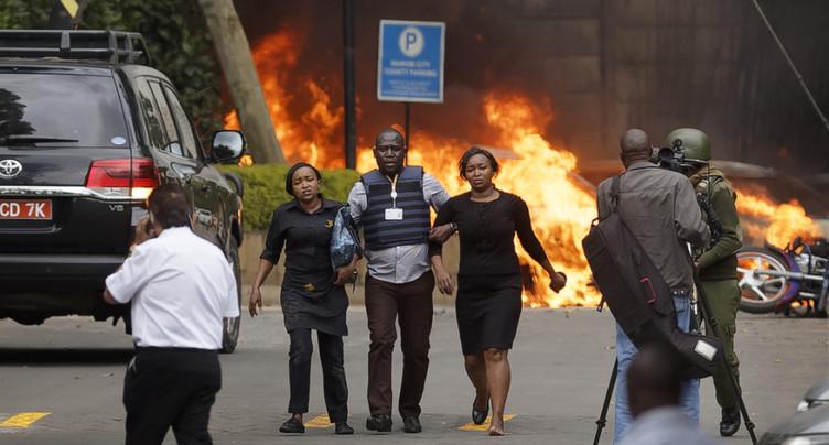 Au moins cinq morts dans l'attaque d'un complexe hôtelier à Nairobi