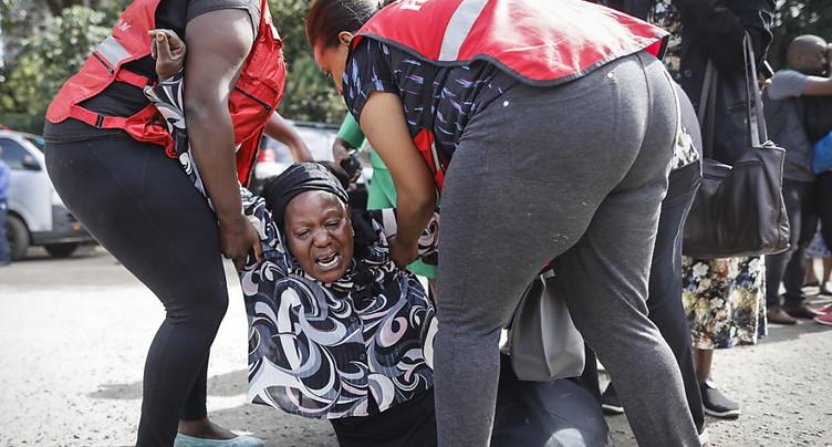 Kenya: au moins 15 morts dans l'attaque djihadiste de Nairobi