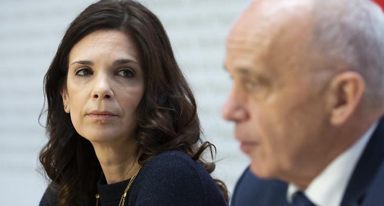 Daniela Stoffel nommée secrétaire d'Etat aux questions financières
