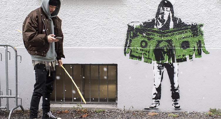 Le graffiti présumé de l'artiste Banksy n'en était pas un