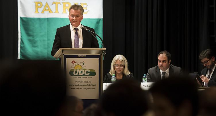 L'UDC Pascal Dessauges obtient le soutien du PLR Vaud