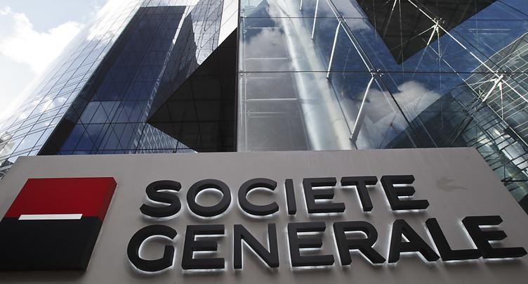 Société Générale: avertissement sur résultats pour le 4e trimestre