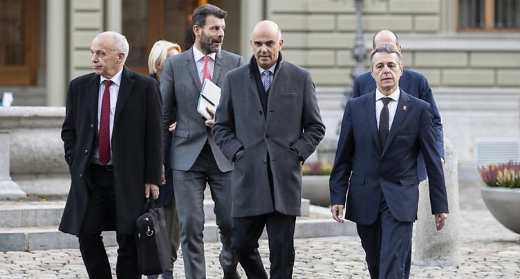 WEF: une cinquantaine de rencontres pour les conseillers fédéraux