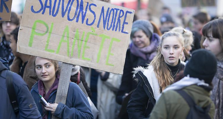 Une grève du climat très suivie en Suisse romande