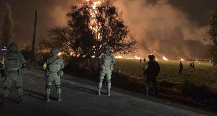 Incendie d'un oléoduc au Mexique: au moins 21 morts et 71 blessés