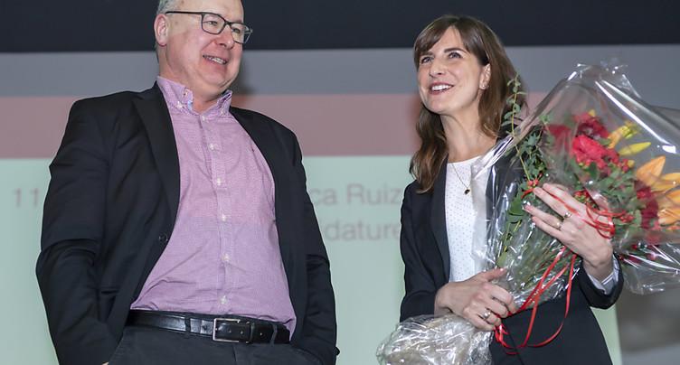 Les socialistes adoubent officiellement Rebecca Ruiz