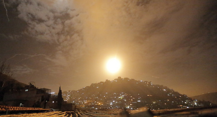 Onze combattants tués en Syrie dans les frappes israéliennes