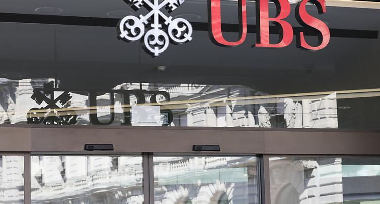 Bénéfice de 4,90 milliards de dollars pour UBS en 2018