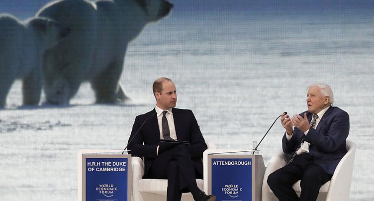 Vibrant appel à une action en faveur du climat au Forum de Davos