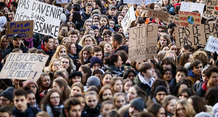 Les députés soutiennent les revendications des jeunes sur le climat