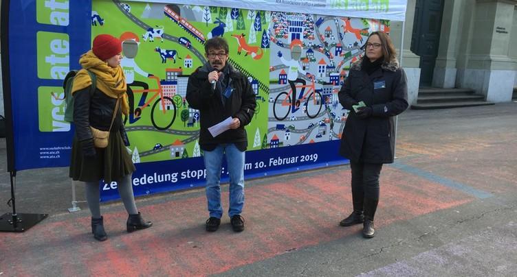 L'ATE dessine ses arguments contre le mitage à la gare de Berne