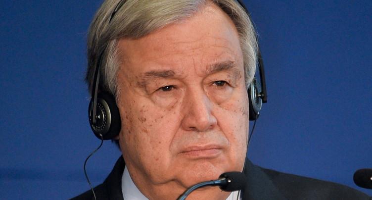Le chef de l'ONU appelle au « dialogue » pour éviter un « désastre »
