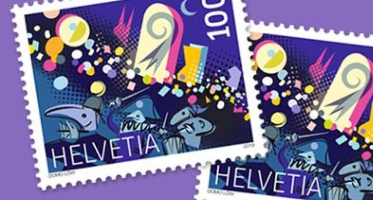 La Poste rend hommage au carnaval de Bâle avec un timbre