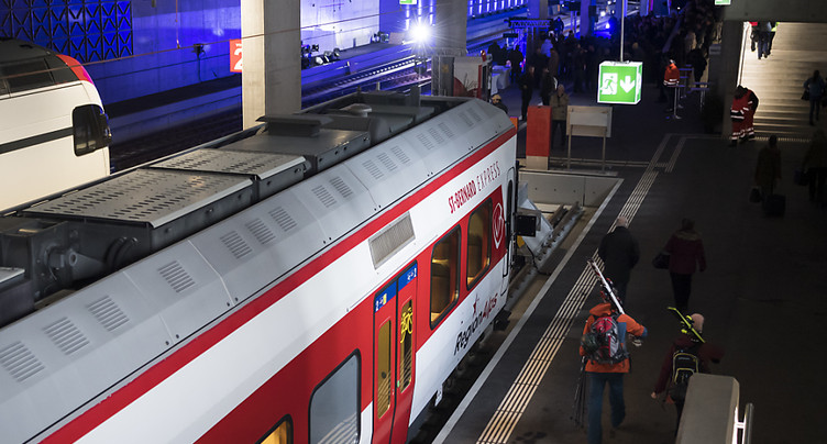 Gare en sous-sol inaugurée au pied de la station de Verbier (VS)