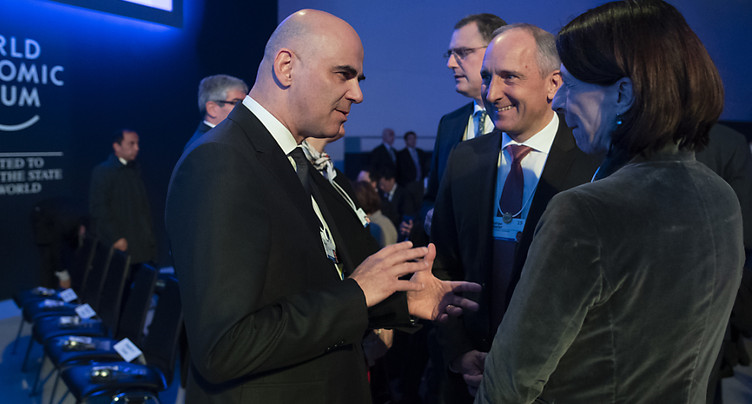 Alain Berset tire un bilan positif de sa participation au WEF