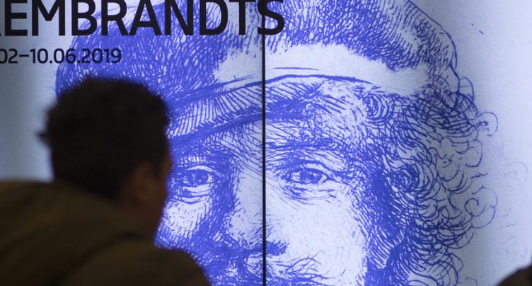 Exposition historique 350 ans après la mort de Rembrandt