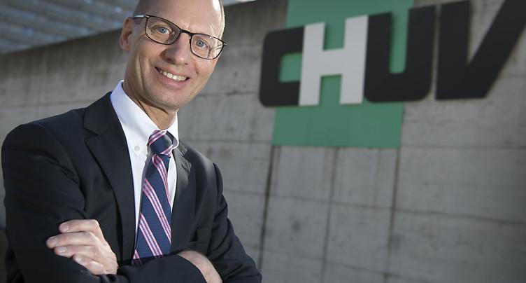 Le Jurassien Philippe Eckert, futur directeur général du CHUV