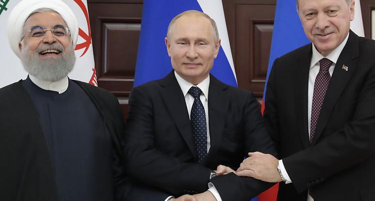 Moscou, Téhéran et Ankara se félicitent du retrait américain de Syrie