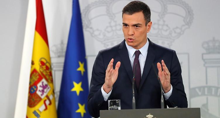 Espagne: Sanchez convoque des législatives anticipées pour le 28 avril