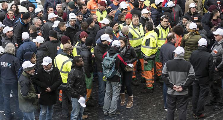 Une partie du personnel de la ville de Fribourg en grève lundi