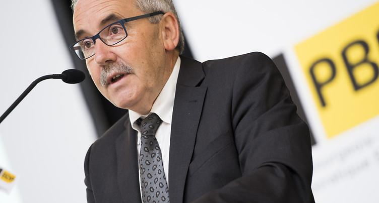 Le co-fondateur du PBD Hans Grunder termine son dernier mandat