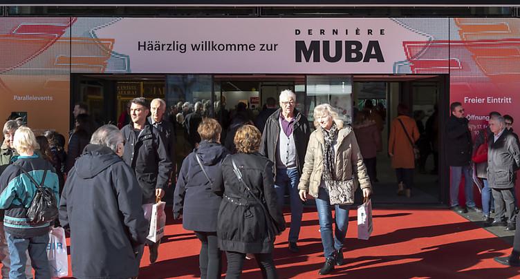 La Muba à Bâle clôture son ultime édition