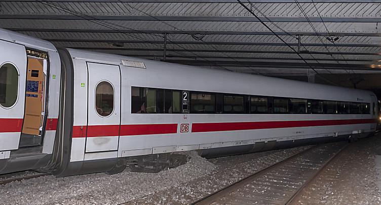 Les trains internationaux circulent à nouveau à Bâle dès mercredi