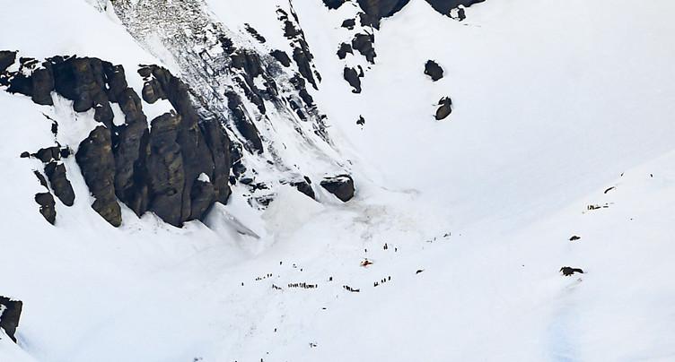 Quatre blessés dans une avalanche à Crans-Montana VS