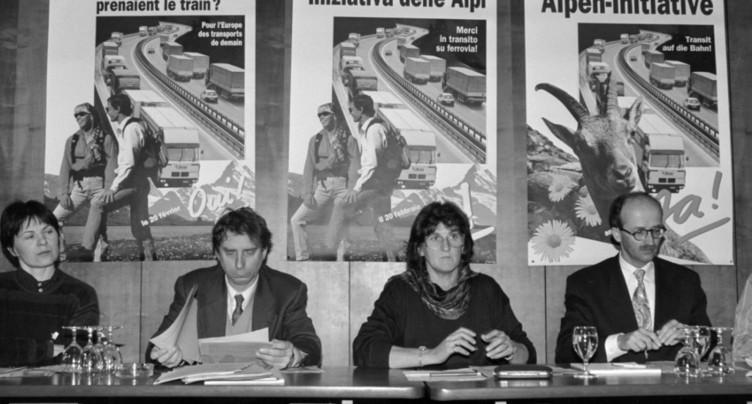 Vingt-cinq ans après l'initiative des Alpes, ses initiants ne voient pas le bout du tunnel