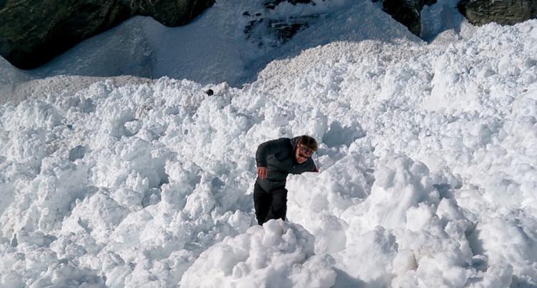 Avalanche à Crans-Montana: la personne gravement blessée a succombé