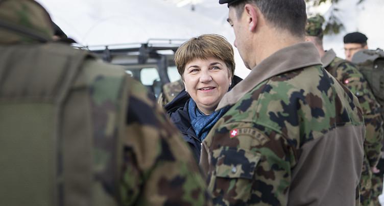Le Conseil fédéral demande d'investir deux milliards dans l'armée