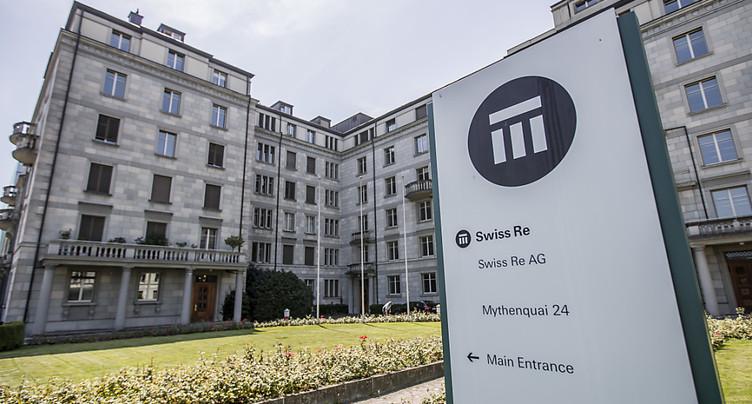Swiss Re dégage un bénéfice net de 421 millions de dollars sur 2018