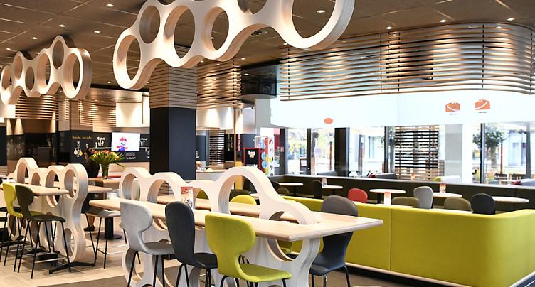 Chiffre d'affaires record pour McDonald's en Suisse en 2018