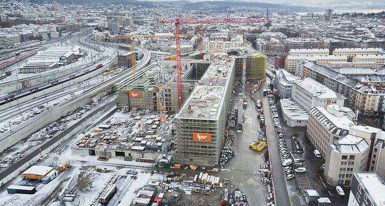 Début d'année prometteur pour le secteur de la construction suisse