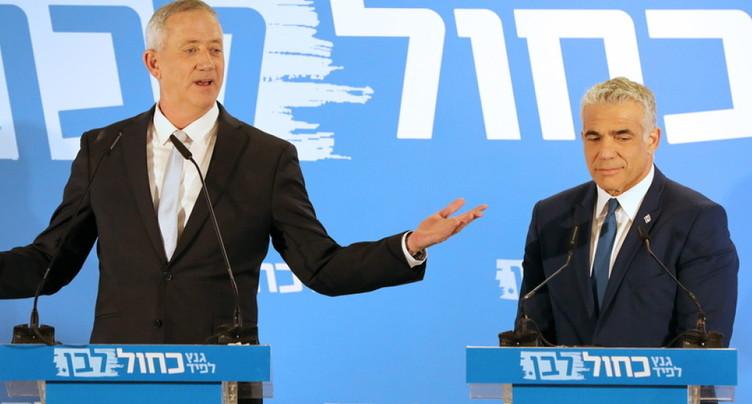 Les principaux rivaux de Netanyahu font alliance