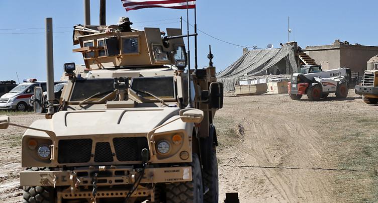 Environ 200 soldats américains vont rester en Syrie