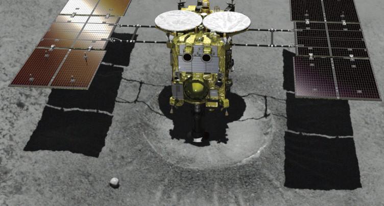 La sonde Hayabusa2 a réussi à se poser sur l'astéroïde Ryugu