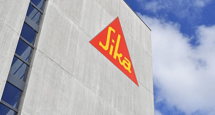 Sika relève son dividende au terme de l'exercice 2018