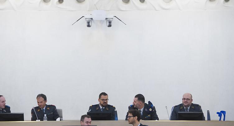 Ex-sergent de l'armée suisse condamné à 90 jours amende