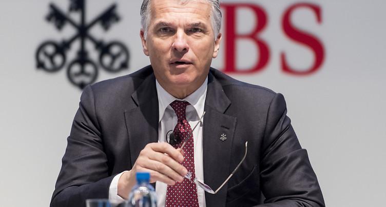 UBS entend maintenir sa politique de dividende