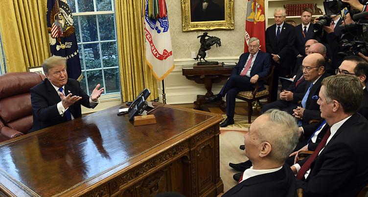 Trump voit de « bonnes chances » d'arriver à un accord avec Pékin