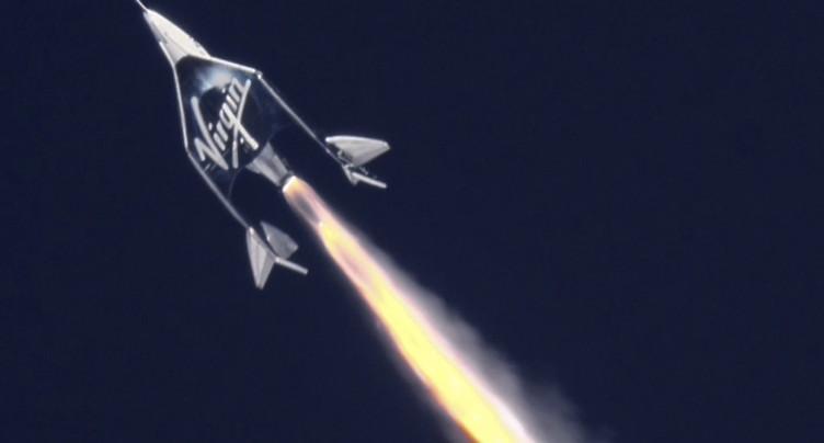 Le vaisseau spatial de Virgin Galactic a atteint 90 km d'altitude