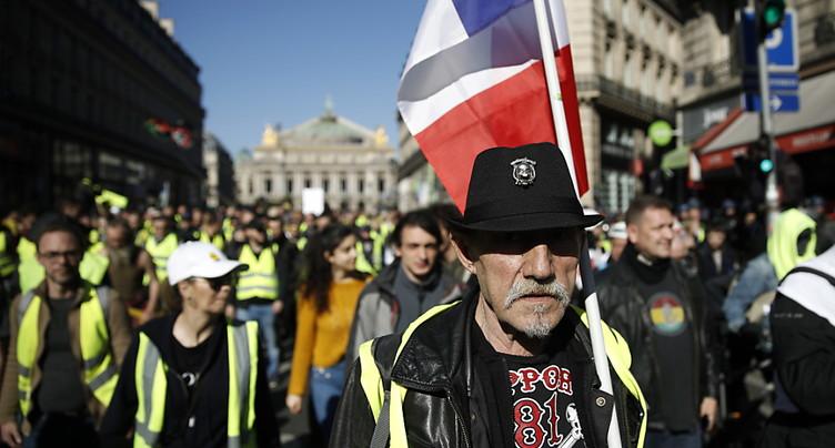 « Gilets jaunes »: 11'600 manifestants en France à 14h00