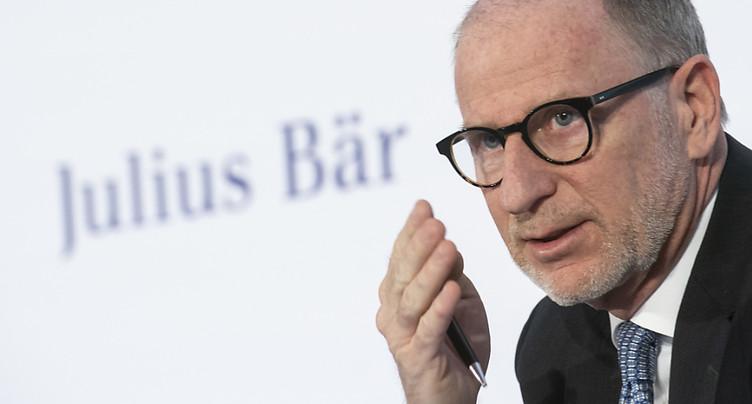 Le patron de Julius Bär empoche plus de 6 millions de salaire