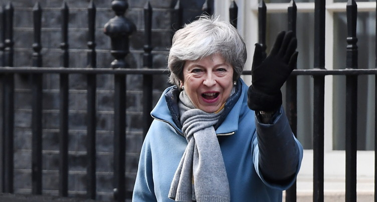 Nouvel obstacle à l'accord de Brexit de Theresa May